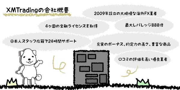 XMの口座タイプのスペックのアイキャッチ画像